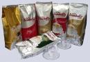 Doporučujeme vyzkoušet balíček 6 kg italské zrnkové kávy Trombetta, složený z 6 různých druhů.. Naleznete v něm směsi s dominancí  Arabiky, které jsou jemné, lahodné a aromatické i silné a hořké kávy s výraznou crémou.